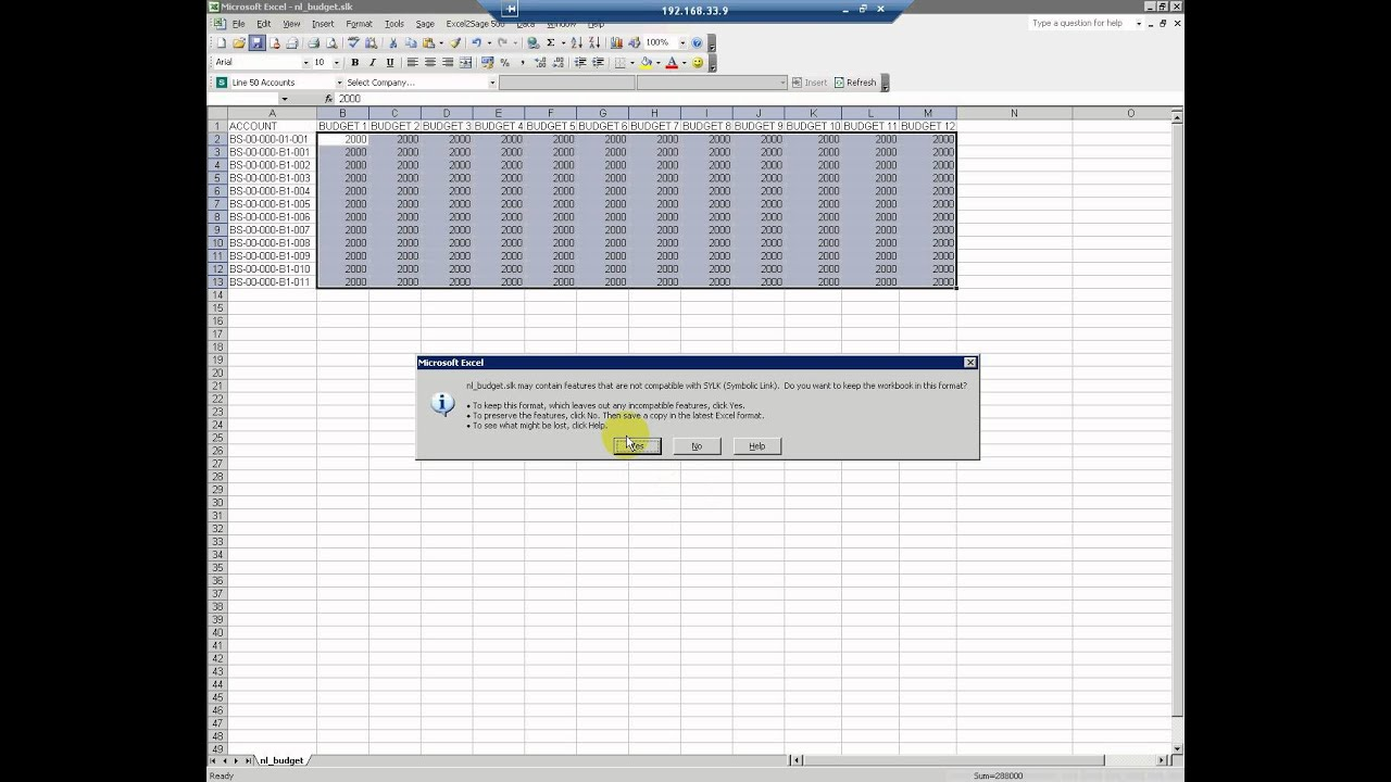 Excel2sage 500 import nominal ledger journals and budgets from excel2sage 500 import nominal ledger journals and budgets from excel into sage 500 pronofoot35fo Choice Image