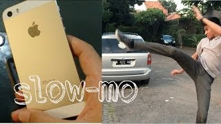 iPhone 5S: Slow Motion test | 120fps (HD)