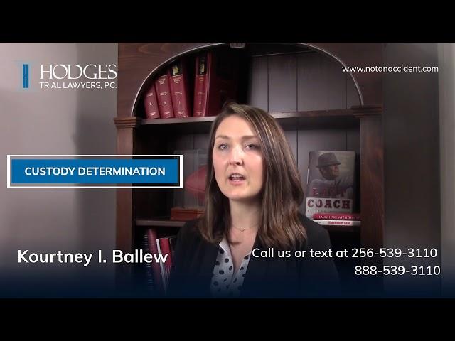 Custody Determination