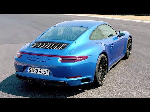 2017 Porsche 911 Carrera 4 GTS Sapphire Blue - Awesome Drive 450 hp