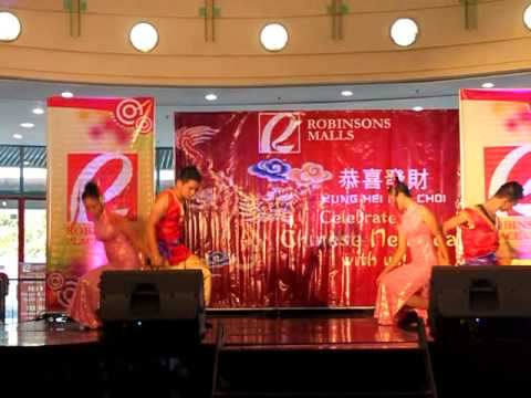 CHINESE cultural presentation by the Emeralds