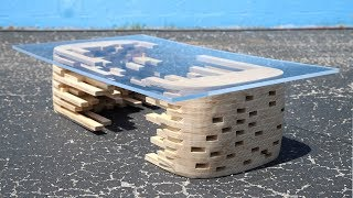 DIY Coffee Table From One Sheet Of Plywood | #rocklerplywoodchallenge