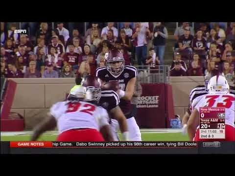 Texas A&M vs New Mexico 2017 - no huddle