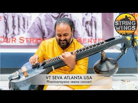 V T seva Atlanta USA Annual day celebrations -  phaninarayana's  Movie mania on veena
