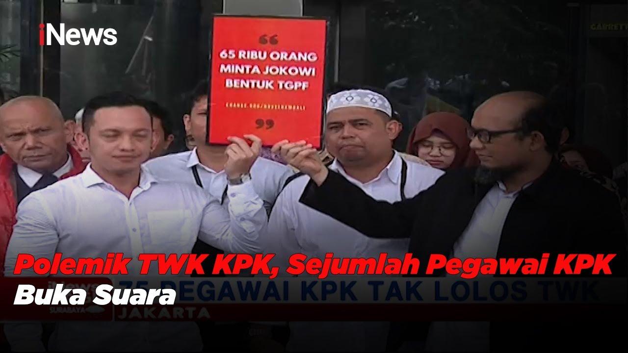 Polemik TWK KPK, Sejumlah Pegawai KPK Buka Suara - iNews Pagi 29/05