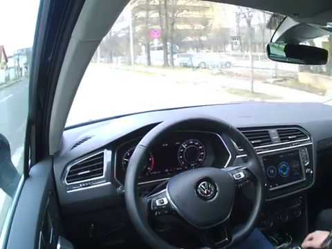 ADAPTIVE CRUISE CONTROL (ACC) - Volkswagen Tiguan Highline real test in real traffic - YouTube