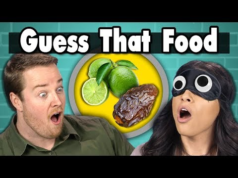 GUESS THAT FOOD CHALLENGE!  People Vs. Food ft. FBE STAFF