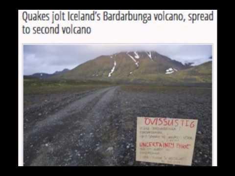 Quakes jolt Iceland's Bardarbunga volcano