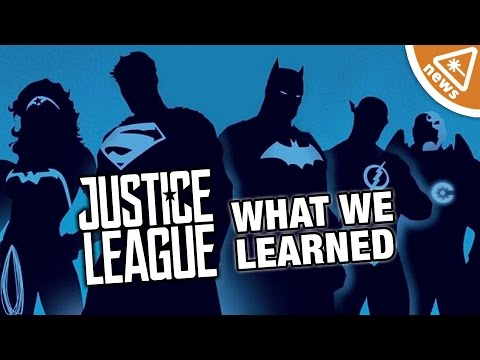 The Most Important Justice League Details We Learned! (Nerdist News w/ Jessica Chobot)