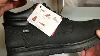 Обзор зимних мужских ботинок Rieker 15931-01 от Vintop