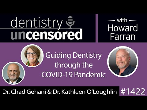 1422 American Dental Association President Dr. Chad Gehani And Exec. Dir. Dr. Kathleen O'Loughlin