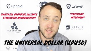Interview Announcing Interest-Paying Stablecoin UPUSD From Universal Protocol Alliance
