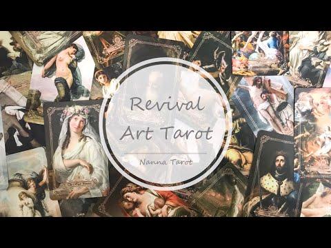 開箱  藝術復興塔羅牌-第二版 • Revival Art Tarot Second edition // Nanna Tarot