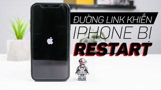 Đường link này khiến iPhone bị restart lại kể cả iPhone Xs