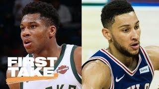 First Take debates which NBA player under 23 they'd build a team around | First Take | ESPN