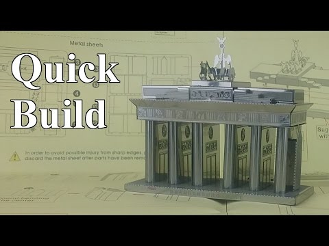 Quick Build - Brandenburg Gate