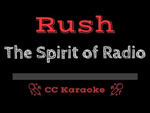 Rush   The Spirit of Radio Live CC Karaoke Instrumental