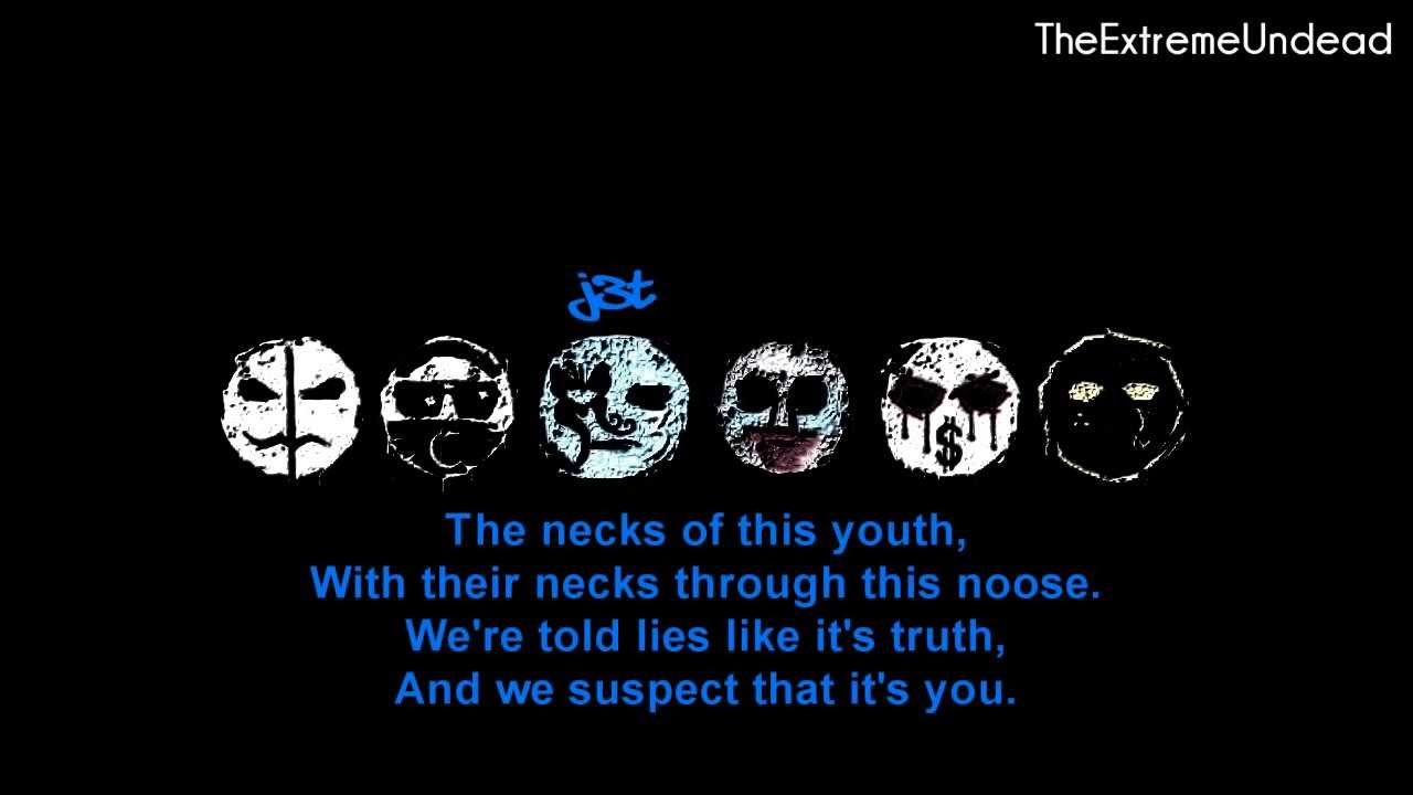 Hollywood Undead - Pain [Lyrics Video]