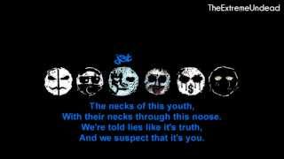 Repeat youtube video Hollywood Undead - Pain [Lyrics Video]
