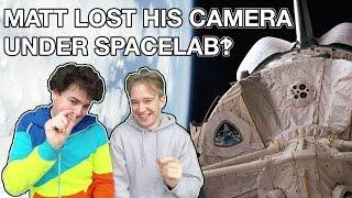 Matt Lost His Camera Under Spacelab‽