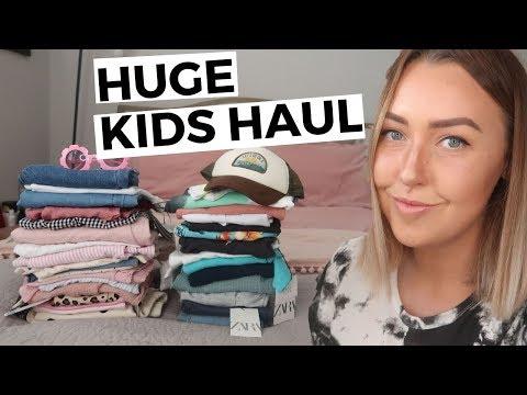 HUGE BOYS & GIRLS SUMMER HAUL | ZARA, H&M, NEXT, TU