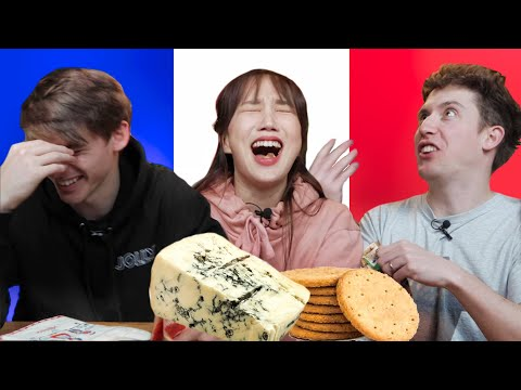 When British People Try French Snacks...