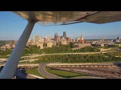 Kansas City Skyline Approach
