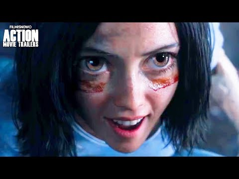 ALITA: BATTLE ANGEL   Official Trailer   Robert Rodriguez Sci-Fi Action Movie