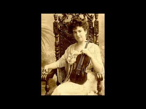 Maud Powell - The Bee (Schubert), Minute Waltz(Chopin) - 1909
