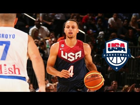 Stephen Curry Team USA Full Highlights vs Puerto Rico 2014.8.22 - 20 Pts, 4 Treys, TOO EASY!!!