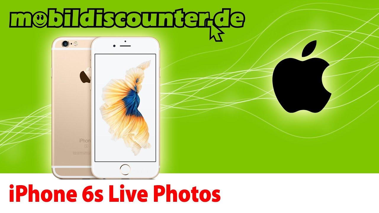 Iphone 6s live photos als hintergrund