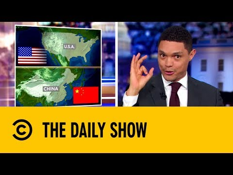 The US And China Face Off In The 5G Marathon | The Daily Show with Trevor Noah