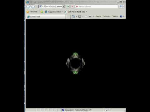 WPF XBAP 3D Test-1