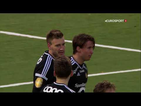 Nicklas Bendtner goal [0-2] Tromsø - Rosenborg