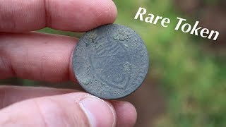 Found Rare Token and Old Coins - Metal Detecting England