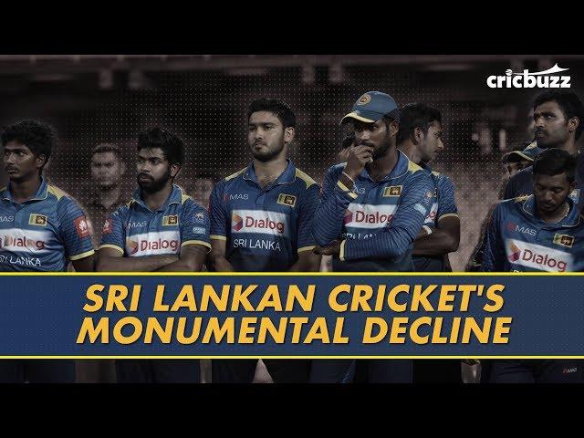 Sri Lankan team's fall in ODIs.