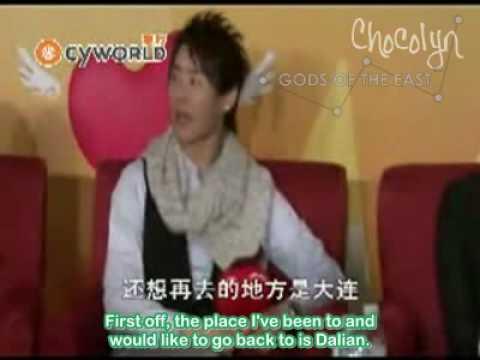 [ENGSUB] 2007.12.02 Cyworld Concert - TVXQ & Zhang Li Yin (Part 3)