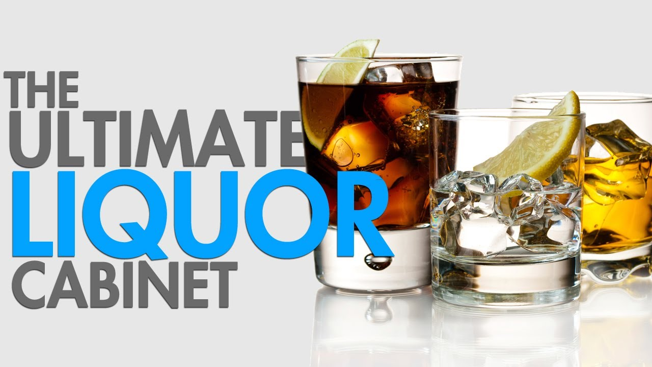 Get The Ultimate Liquor Cabinet - YouTube