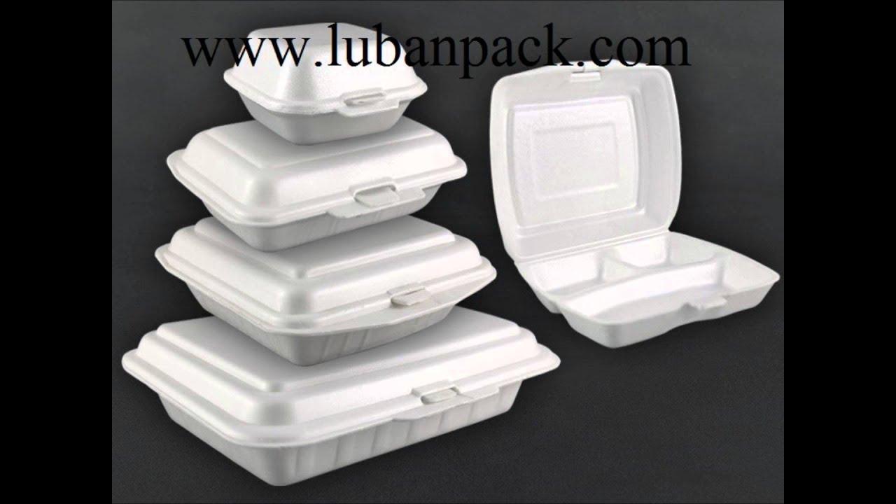 42a30087f013 Foam Lunch Box Manufacturer - Luban Pack