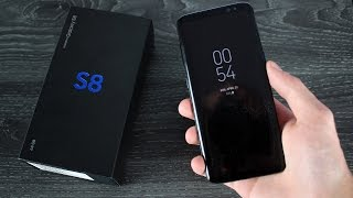 Samsung Galaxy S8: Unboxing The Best Phone EVER (Midnight Black)