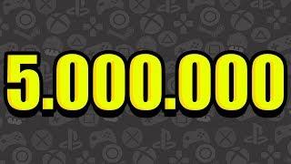 5.000.000 МИЛЛИАРДОВ МИЛЛИОНОВ ТРИЛЛИОНОВ ПОДПИСЧИКОВ