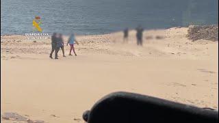 Denuncian a dos personas por pasear en un espacio protegido en Fuerteventura