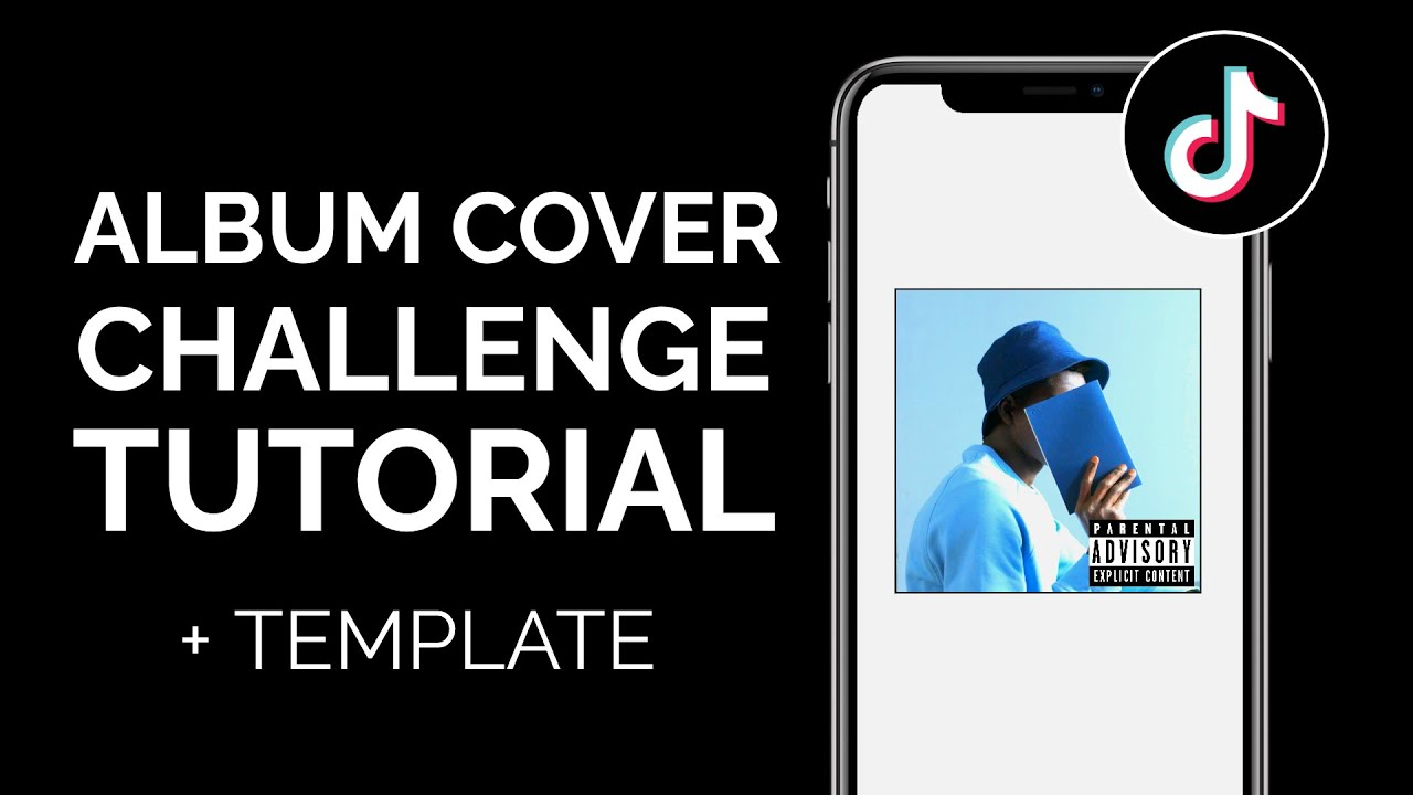 How To Do The Album Cover Challenge On Tiktok With Templates And Album Cover Maker Online Youtube