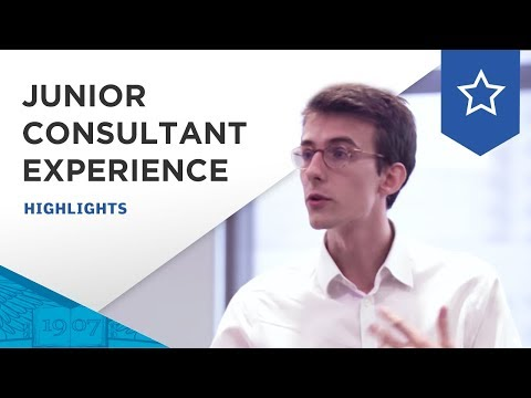 Junior Consultant Experience a Unique Learning by Doing Experience at ESSEC Business School