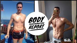 La Trasformazione fisica di uno  Skinny Fat - Report Allenamento Alimentazione