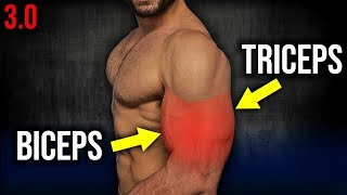6min Home BICEPS and TRICEPS Workout 3.0 (DUMBBELL ARM WORKOUT!!)