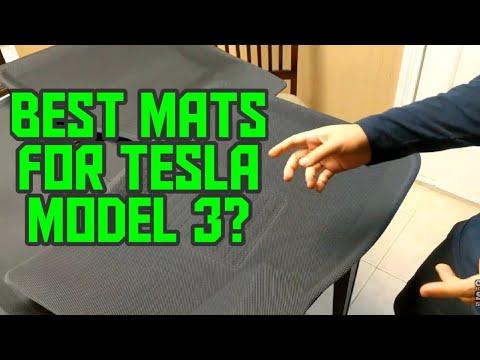 3D MAXpider vs TapTes Tesla Model 3 All-Weather Floor Mats | Best Value Tesla Model 3 Mats