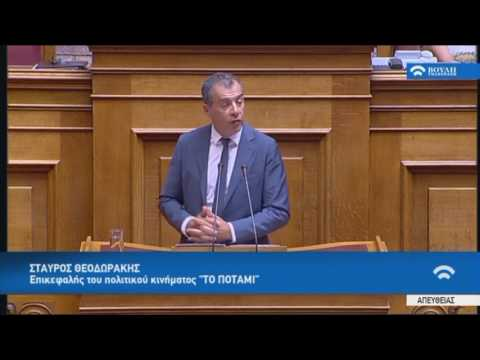 Στ.Θεοδωράκης(Πρόεδρος Κ.Ο. Ποταμιού)(Οργάνωση και λειτουργία της ανώτατης εκπαίδευσης.)(01/08/2017)