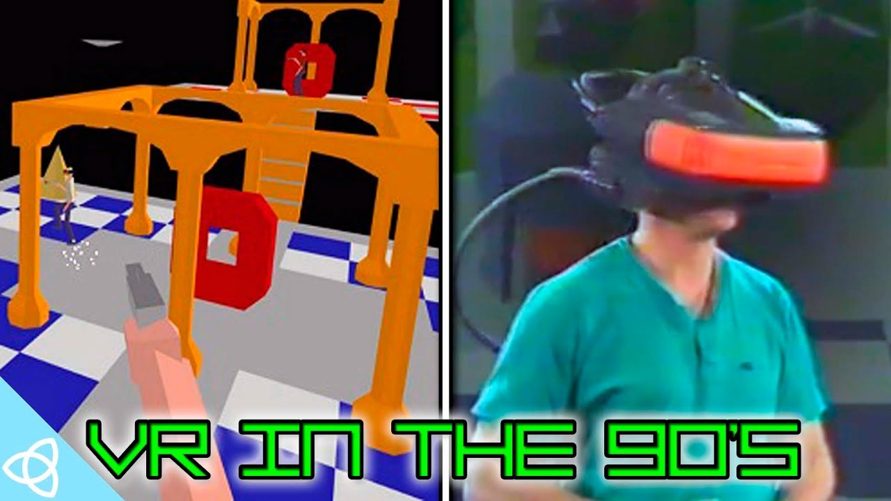 3e048615f557 Virtual Reality in the 90 s - YouTube