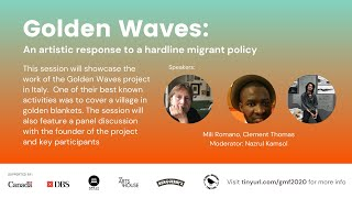Golden Waves: An artistic response to a hardline migrant policy